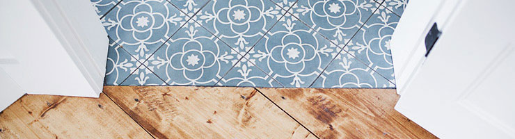 Rustic flooring is trending