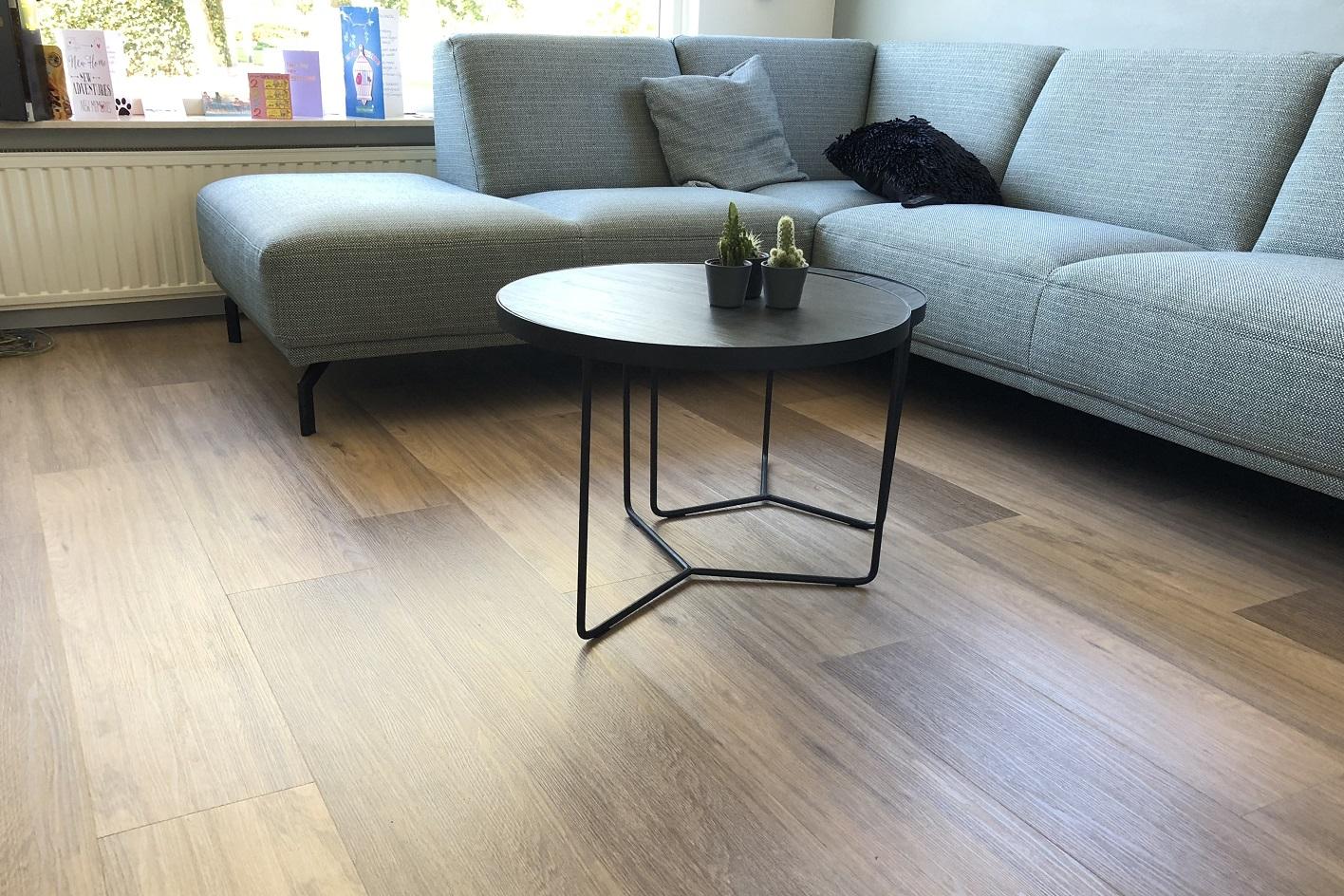 LVT flooring mimics the look of real wood, ceramic or stone flooring