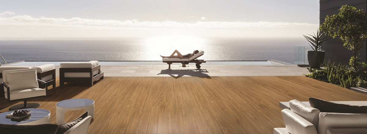 This laminate flooring is suitable for the harsh Australian climate