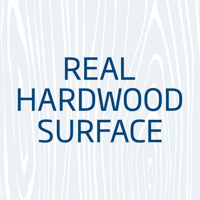 Real Hardwood Surface